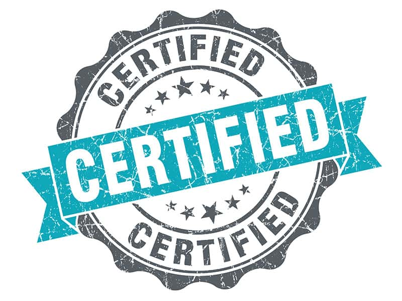 Why Certify? The Benefits of Certification